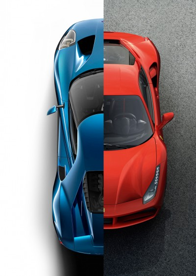 Designaholic-Ferrari Ford-488gtb Ford gt-07