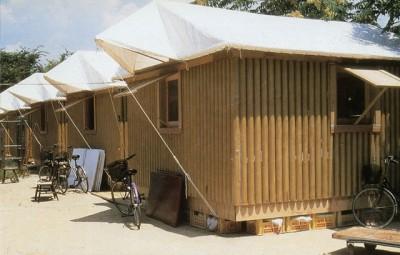 Shigeru Ban: refugios hechos de papel