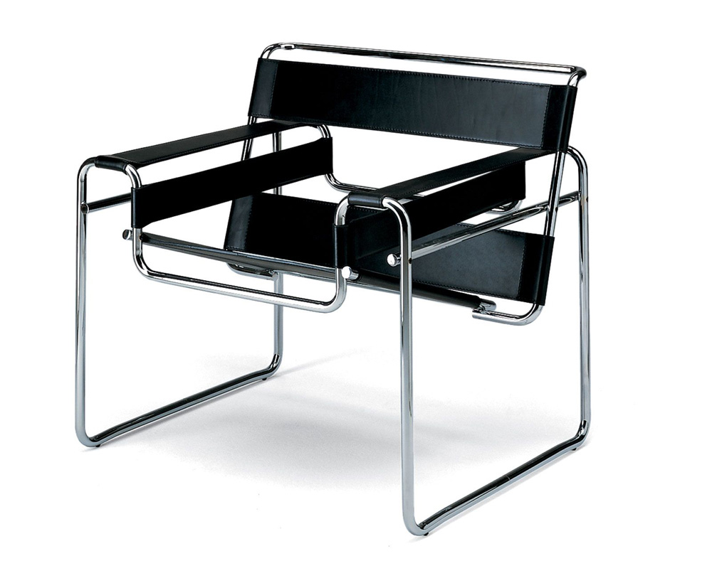 cl sicos silla wassily por marcel breuer designaholic. Black Bedroom Furniture Sets. Home Design Ideas