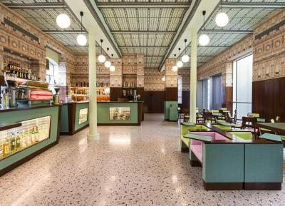 Bar Luce, una cafetería diseñada por Wes Anderson
