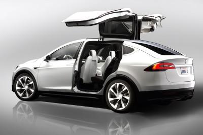 El SUV Model X de Tesla