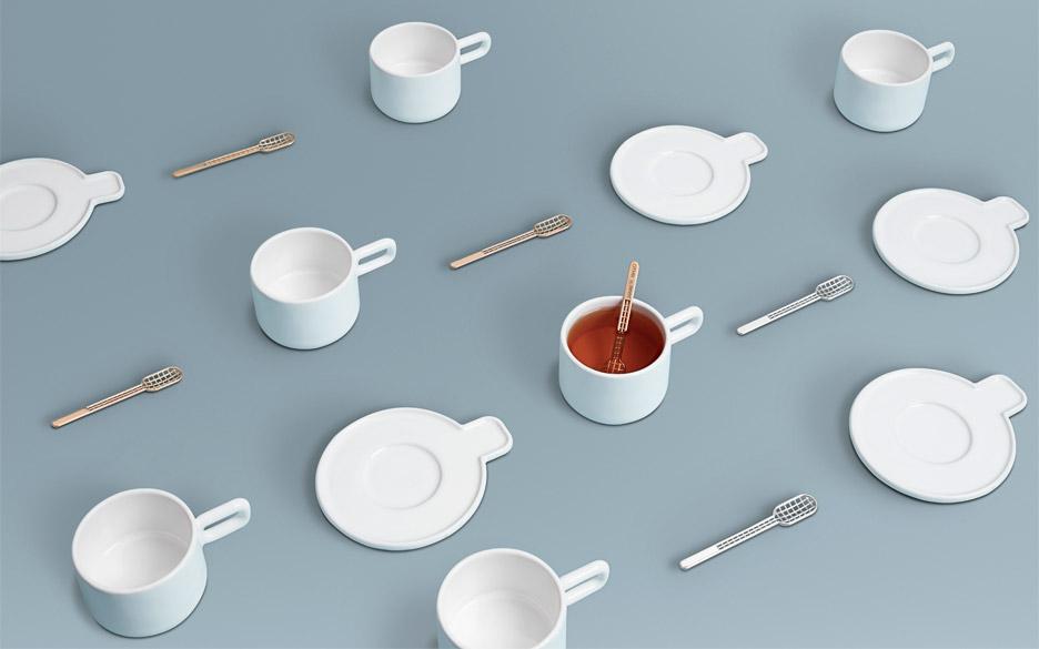 Set de tazas por Alissa Melka-Teochreow para OTHR