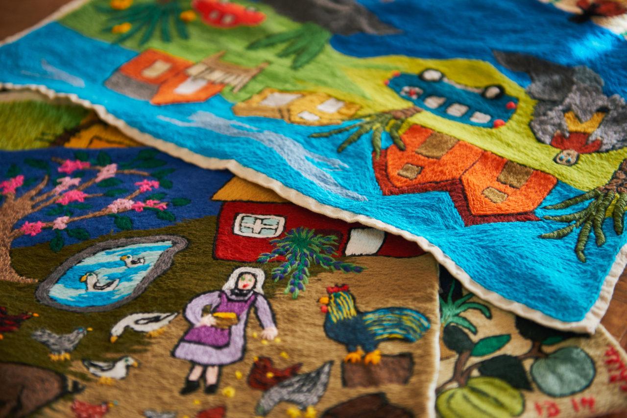 Manufactura: Sofía Hott – Bordadoras de Isla Negra