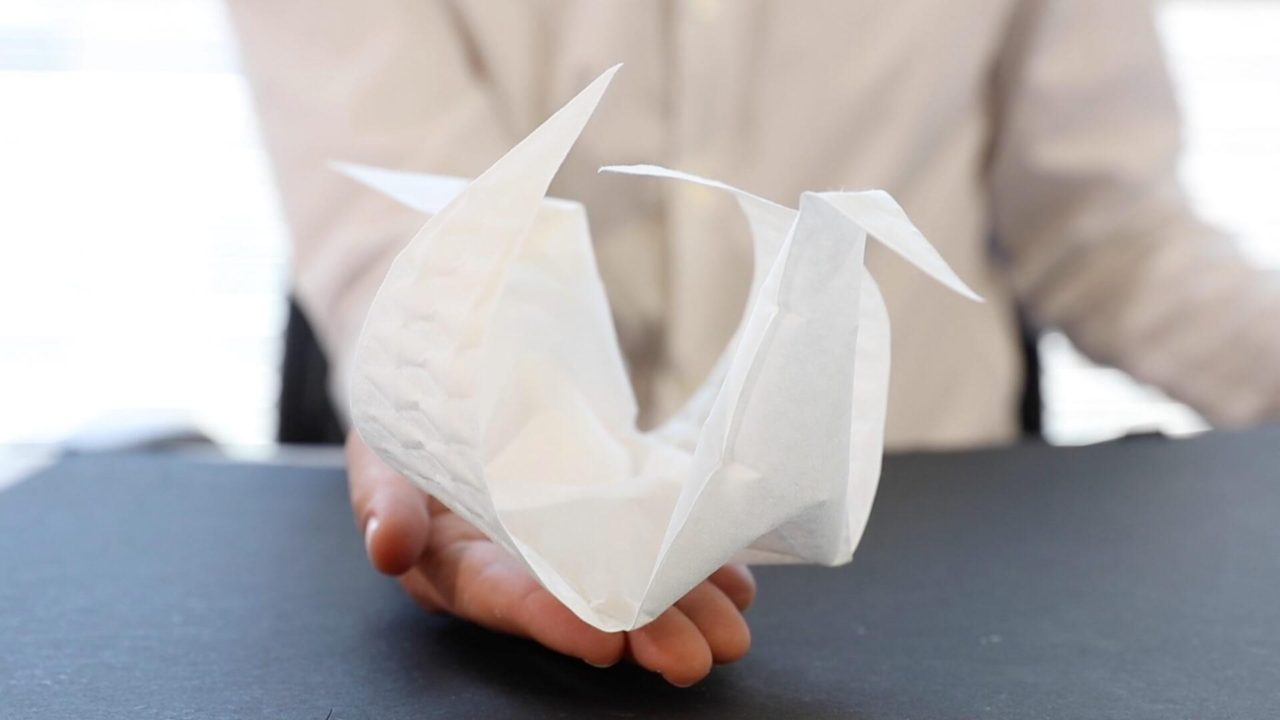 AeroMorph: origami inflable por el MIT