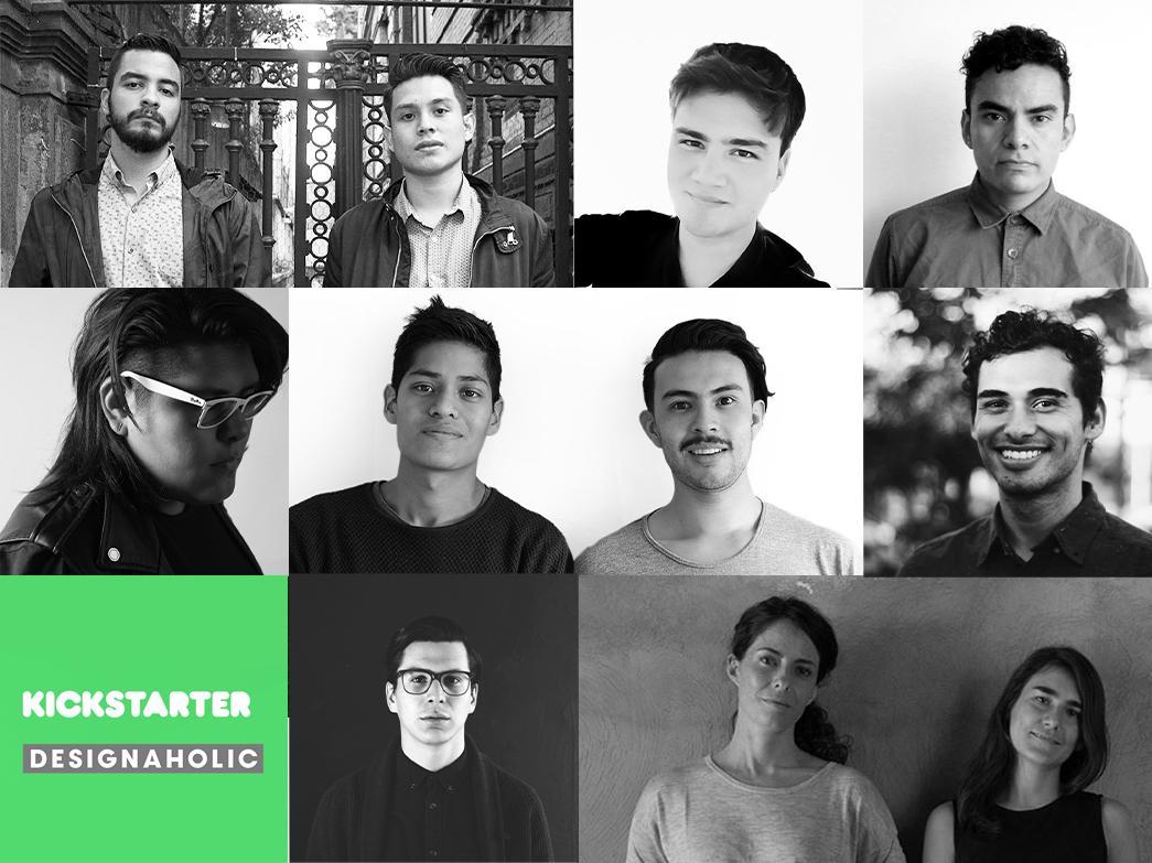 ¡Conoce a los seleccionados de la convocatoria Kickstarter + Designaholic!