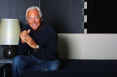 Giorgio Armani y el negocio de la moda
