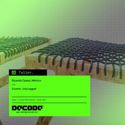 DECODE 2015: Taller Diseño Unplugged por Ricardo Casas