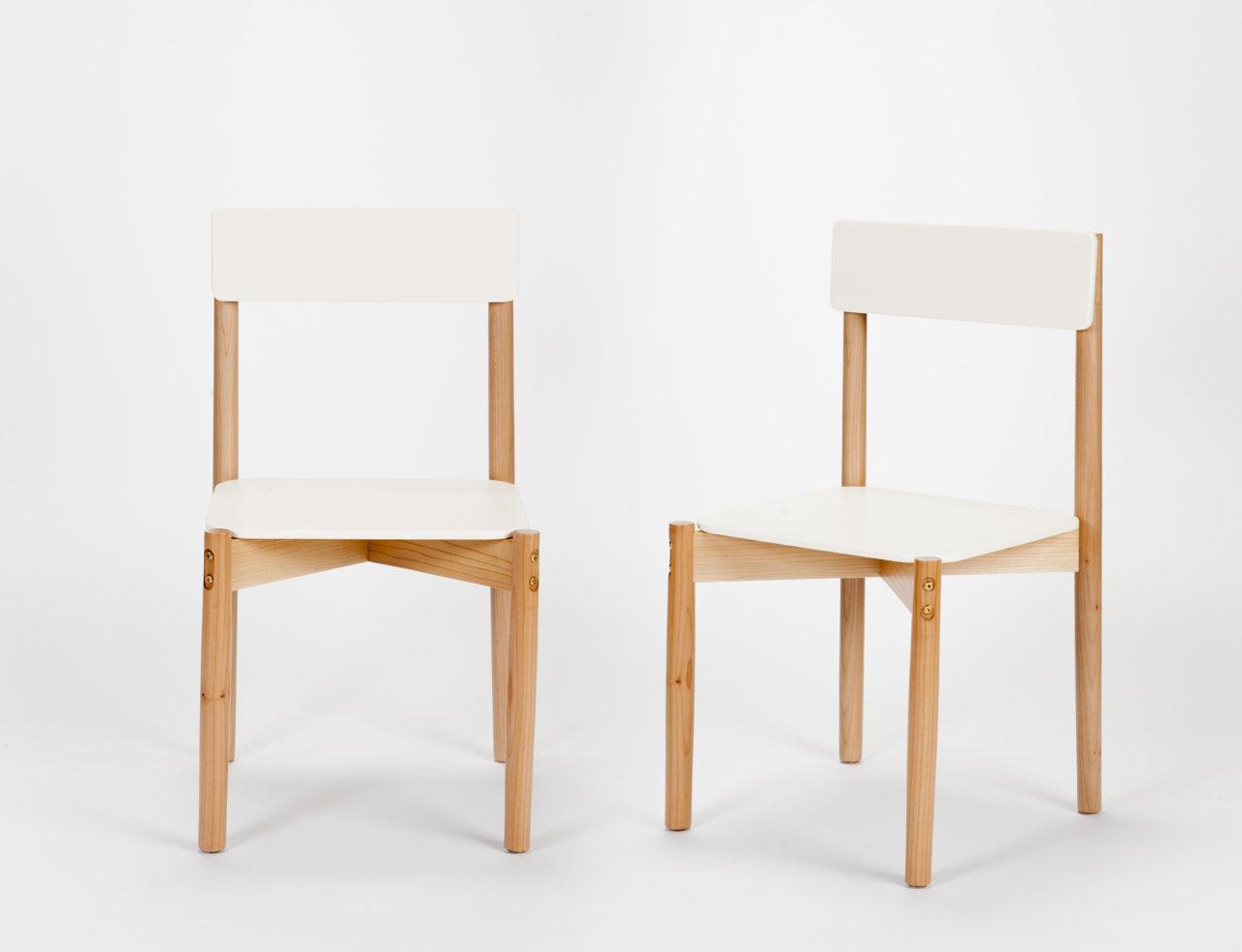 Generación DECODE 2016: Corian Flat Pack Chair por Eduardo Altamirano