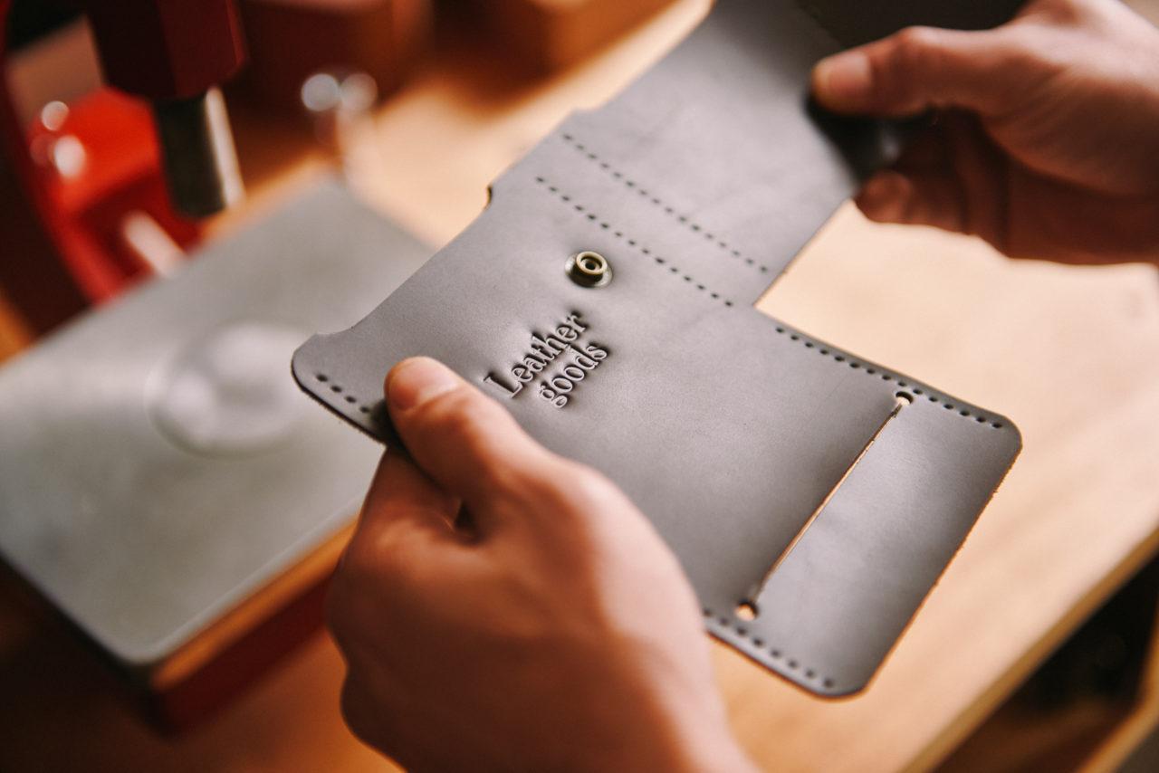 Manufactura: Nómade Leather Goods   Jhan Carlos Arancibia & Victoria Fernández Aramburu