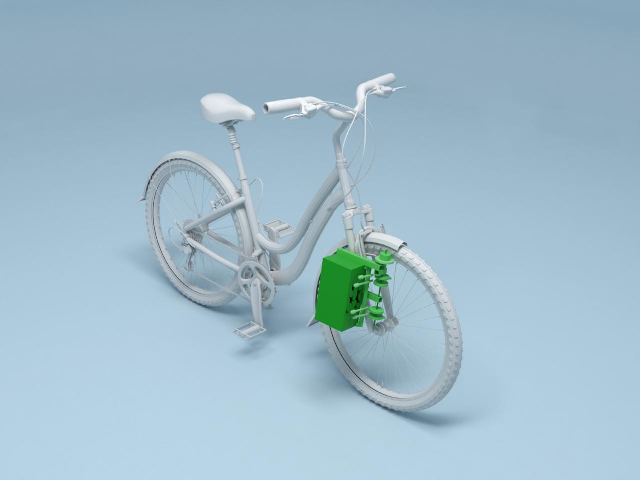 Dispositivo para presencia de bicicletas por Studio José de la O