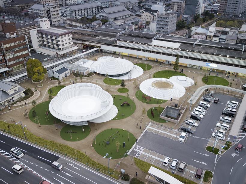 CoFuFun, el primer espacio público diseñado por Nendo