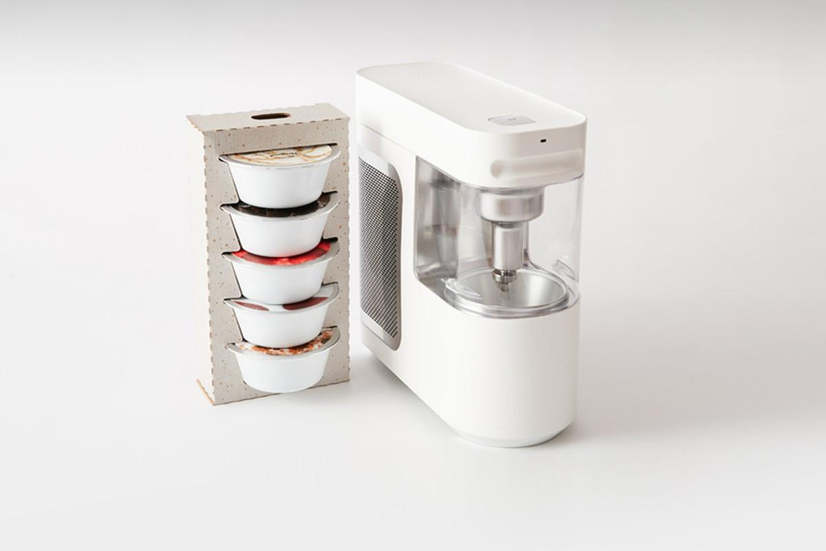 Tecnología keurig para hacer helado suave por Visibility para Wim