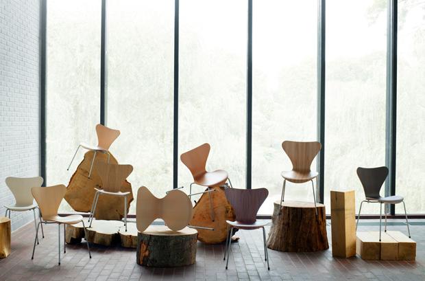 IHO Espacios presenta: La importancia de la silla Serie 7 en la historia del diseño