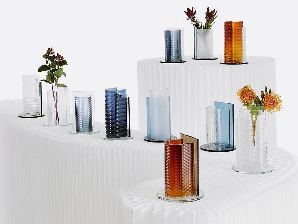 Colección de objetos de vidrio para Pasabahçe