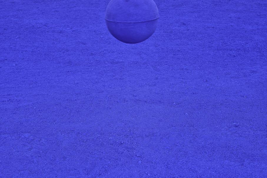 Yves Klein en el Museo Universitario de Arte Contemporáneo